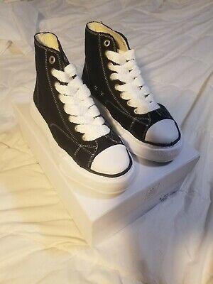 Maison Mihara Yasuhiro Original Sole Hi-Top Sneakers Size 41