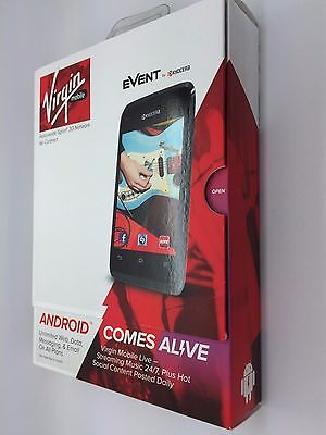 Kyocera Event C5133 4Gb Virgin Mobile Smartphone    Brand New In Box Sealed