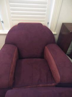 Vintage restored club lounge suite