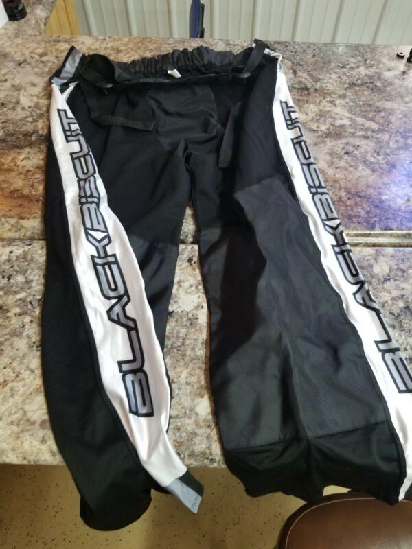 Black Biscuit Roller Hockey Pants- Senior Xl