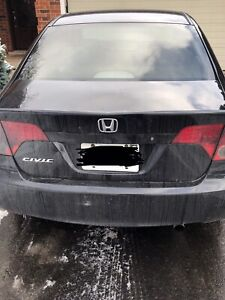 2006 Honda Civic Black