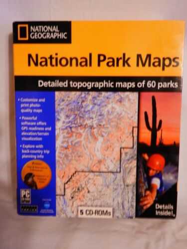 national geographic national park maps