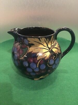 ART DECO, ROYAL STANLEY WARE JACOBEAN MILK JUG CREAMER Grapes Art Deco Berries