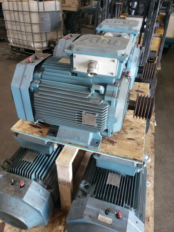 ABB M3BP225SMB4  Electric Motor 60mm Shaft 690Y 400 415 460 45KW #9872SR