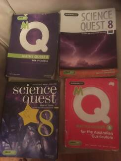 Year 8 school books