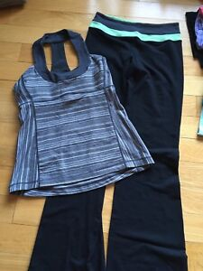 Lululemon outfit size 6/8