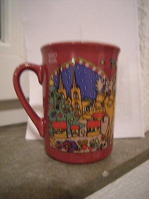 """Weihnachtsmarkt Tasse  """"Weihnachtsmarkt am Kölner Dom 2003""""  0,25 l, wie neu"""