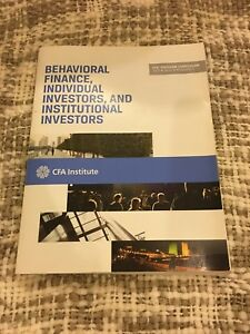 Behavioural finance, individual investors