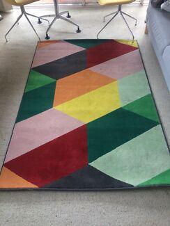 Colourful Rug Ikea Pandrup