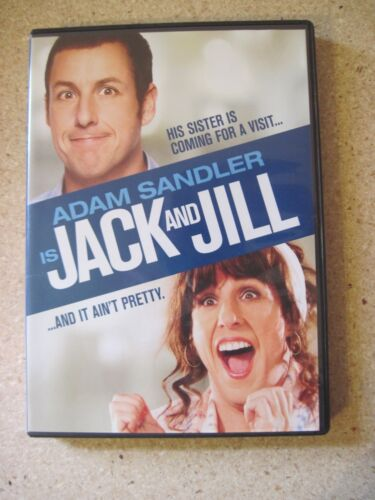 Jack and Jill (DVD, 2012)