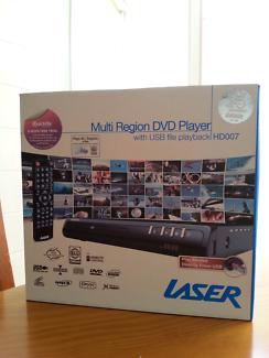 Laser Multi Region DVD Player