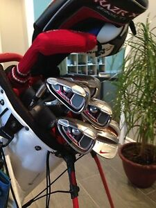 Taylormade burner irons. Great condition, Left handed