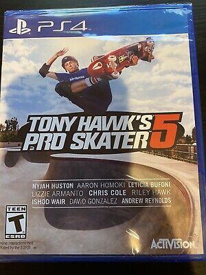 Tony Hawk's Pro Skater 5 PS4 - Brand New Sealed