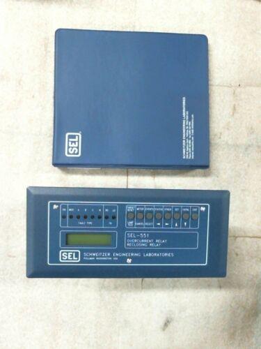 Schweitzer 0551001X531X SEL-551 Overcurrent Reclosing Relay