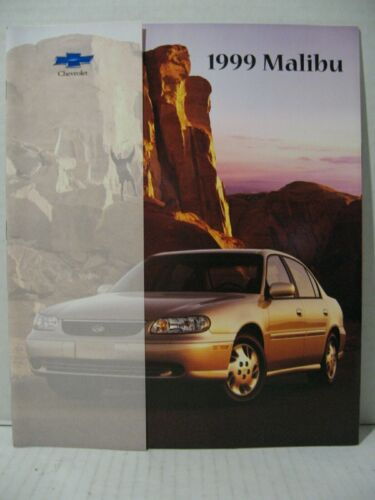 1999 Chevrolet Malibu LS Car Dealer Sales Brochure Catalog