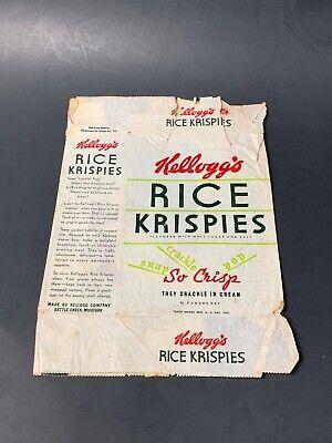 1930s Handbags and Purses Fashion Rare Original 1930's Rice Krispies Wax Cereal Bag Little Jack Horner $10.00 AT vintagedancer.com