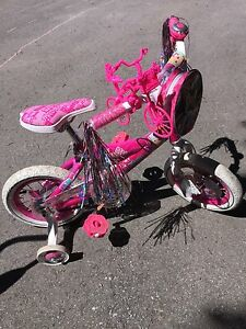 12-inch Wheel kid girls Barbie Bike