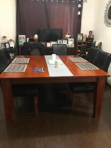 Dining solid wood table St Albans Brimbank Area Preview