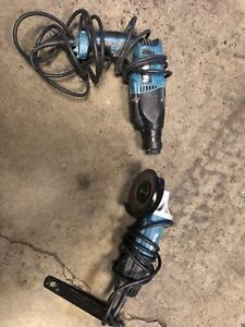 Sds hammer drill and 4 1/2 grinder