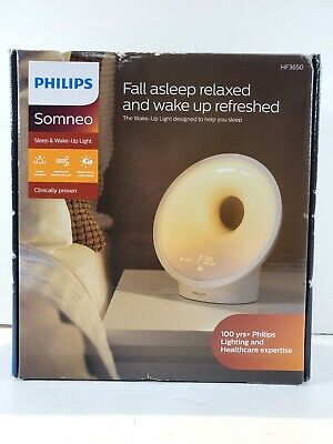 Philips SmartSleep Sleep & Wake-up Light Therapy Lamp - HF3650/60 New In Box