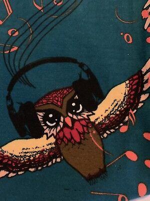 Harry Potter Halloween Music (Os Lularoe Vintage Harry Potter Musical Owls  Gorgeous Htf Nwot)