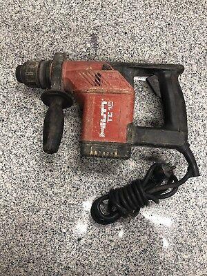 Hilti Te15 Sds Rotary Hammer Drill A-z
