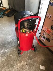 air compressor  stand up on weels Springwood Logan Area Preview
