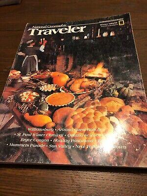 National Geographic Traveler - 1984, Winter - Christmas in Williamsburg, Egypt