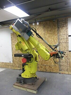 Fanuc Robot S-420 I W A05b-1313-b503 F-34487 Robotic Arm With Welding Attachment