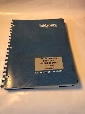 Tektronix 7623a R7623a Storage Oscilliscope Instruction Service Manual