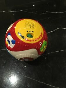 Vtech move and crawl ball