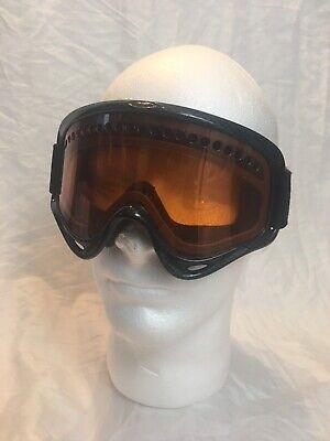 Oakley Ski Snowboard Goggles Adjustable Strap Orang / Amber Lens