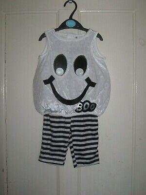 BABY HALLOWEEN GHOST COSTUME 0 - 3 MONTHS - Ghost Baby Halloween Kostüm