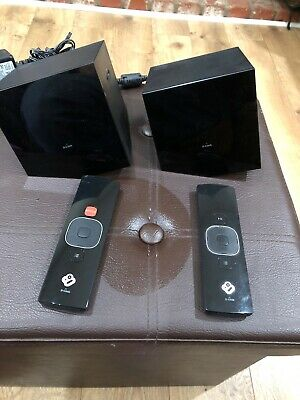 2 D-Link DSM-380 The Boxee Boxes  HD Streaming Media Players W/ Remotes Working