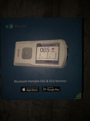 Emay Bluetooth Portable Ekg Ecg Monitor Emg-20