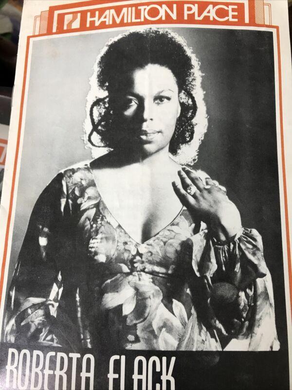 Roberta Flack Program Hamilton Canada July 13,1976