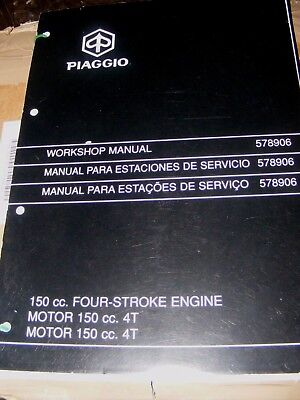 PIAGGIO ENGINE 150cc (VESTA ET4)  SERVICE STATION MANUAL