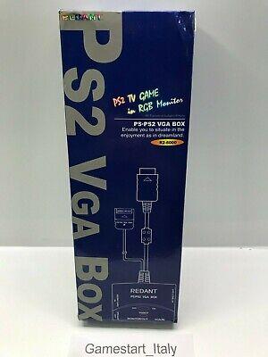 CAVO CABLE VGA BOX NUOVO NEW PS2 PLAYSTATION -