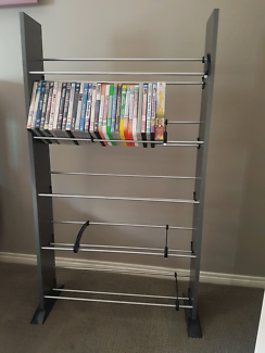Dvd rack and dvds