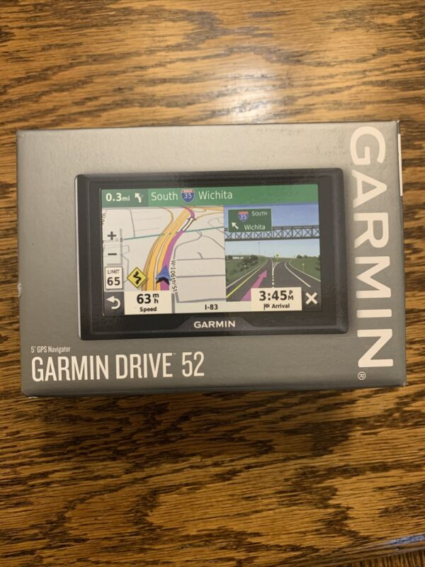 "NEW Garmin Drive 52 GPS Navigator With 5"" Display 010-02036-06"