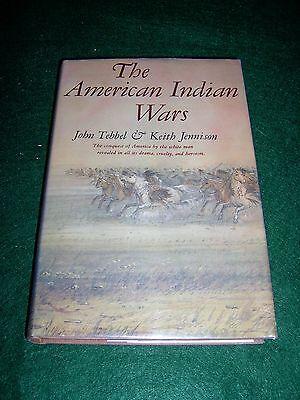 The American Indian Wars   Tebbel   Jennison   Bonanza Pub  1960    Bx16