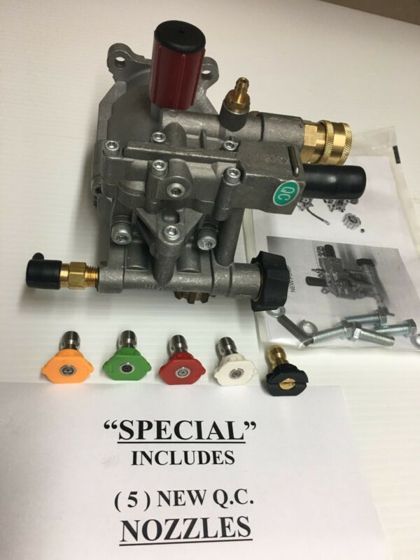 New PRESSURE WASHER PUMP Replaces D28744 A14292 XC2600 XR2500 EXCELL DEVILBISS