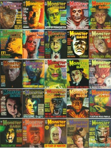 MONSTER BASH MAGAZINE #1 - #43 & SPECIALS - YOU PICK ISSUES - NEW UNREAD COPIES