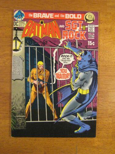 BRAVE & BOLD #96 Batman+ (VF+) Super Nice! Bright, Colorful & Glossy!