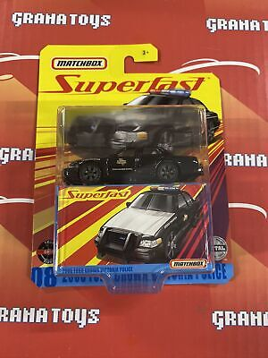 2006 Ford Crown Victoria Police 2020 Matchbox Superfast Mix E