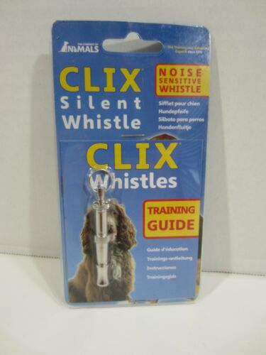 Clix Dog Whistle - Training Whistle - Includes training guide and Free Shipping