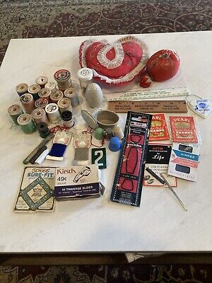 Lot Vintage Sewing Notions Collectible & Usable!! Sewing Needs All Kinds