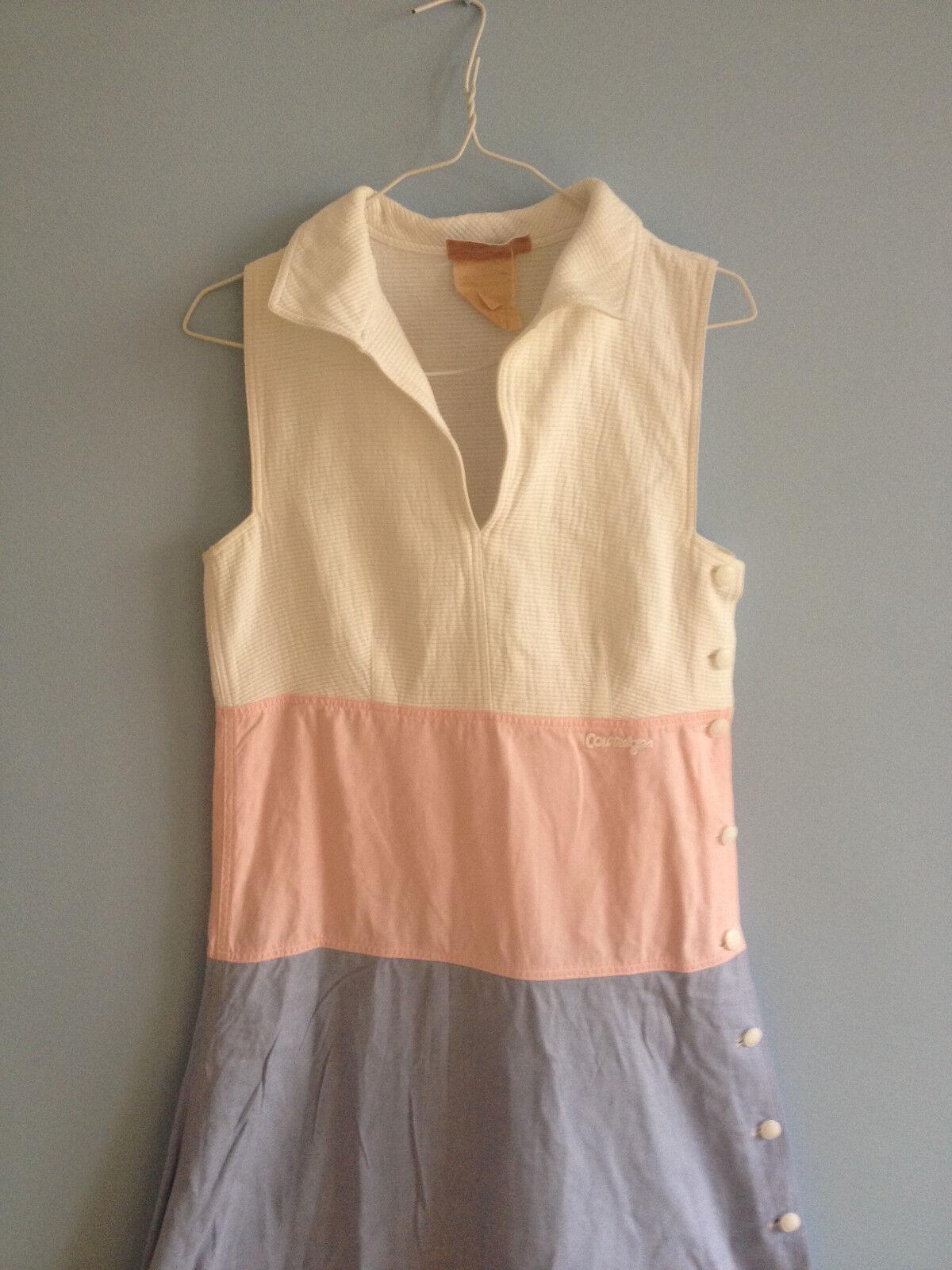 Rare robe courrÈges vintage 34