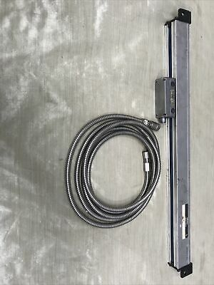 Mitutoyo At2-n450 Linear Scale Part 529-124-5 And Cable At2-n3mpart 937070