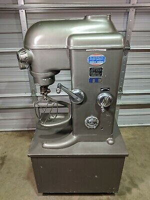 Blakeslee Cc20s Planetary Mixer 20 Qt Cart Mount 5-speed Wo Bowl W Attachments
